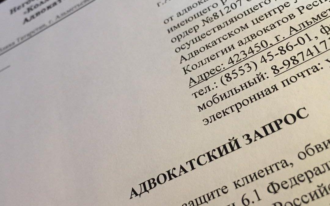 Более 30 адвокатских запросов…